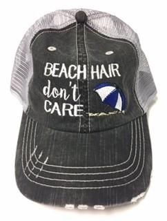 Beach Hair Don't Care Baseball Cap - Boho Bohemian Decor