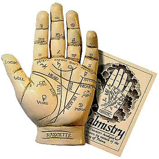 Beginners Palm Reading Fortune Telling Hand Sculpture-GoGetGlam