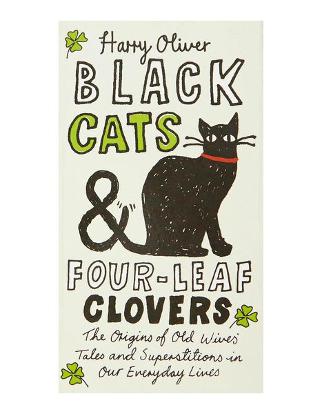 Black Cats & Four-Leaf Clovers Book-GoGetGlam