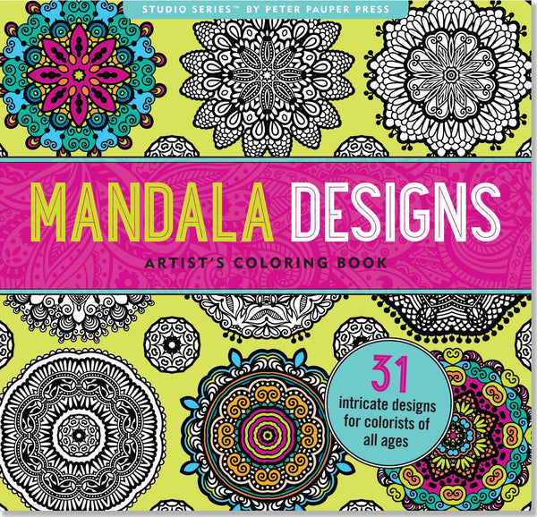 Boho Mandala Designs Anti-Stress Adult Coloring Book-GoGetGlam