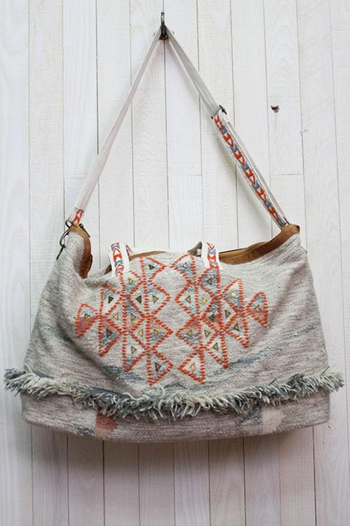 Boho Patterned Weekender Oversize Tote Bag-GoGetGlam