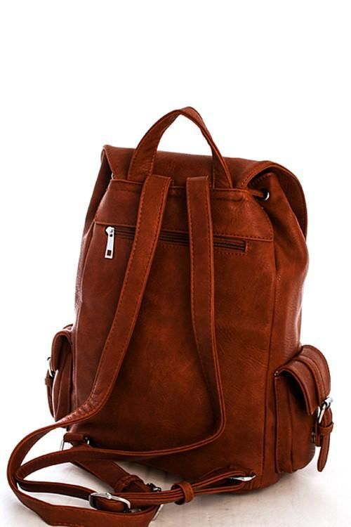 Brooklyn Multi-Pocket Boho Style Backpack Bag-GoGetGlam