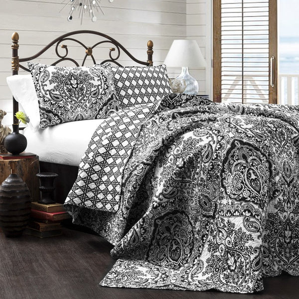 Callie 3 Piece Quilt Bedding SET-GoGetGlam