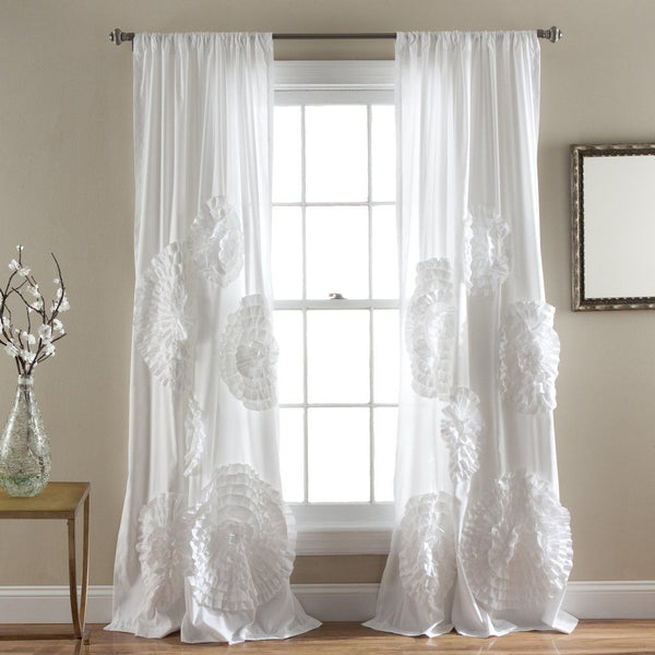 Calliope Rose Window Curtain Panel SET-GoGetGlam