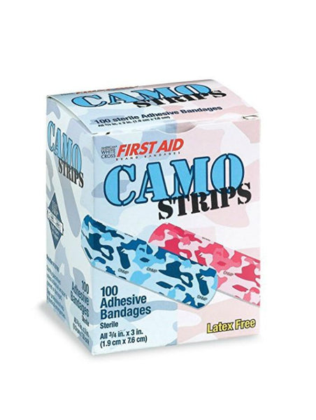 Camo Strips First Aid Band-Aid Bandages-GoGetGlam