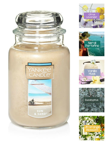 Yankee Candle Sun and Sand Large Jar Candle