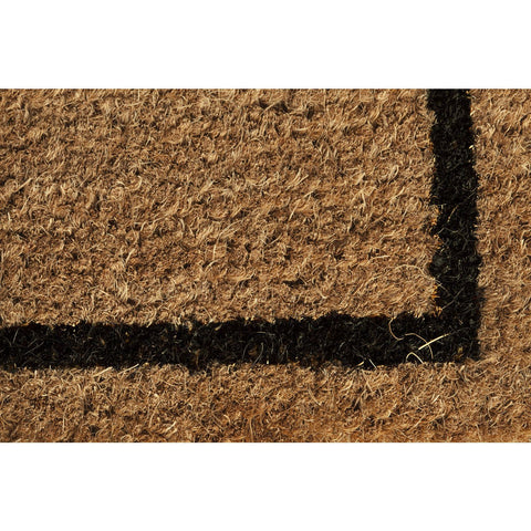 Cat Profile Non-slip Coir Doormat - Boho Bohemian Decor