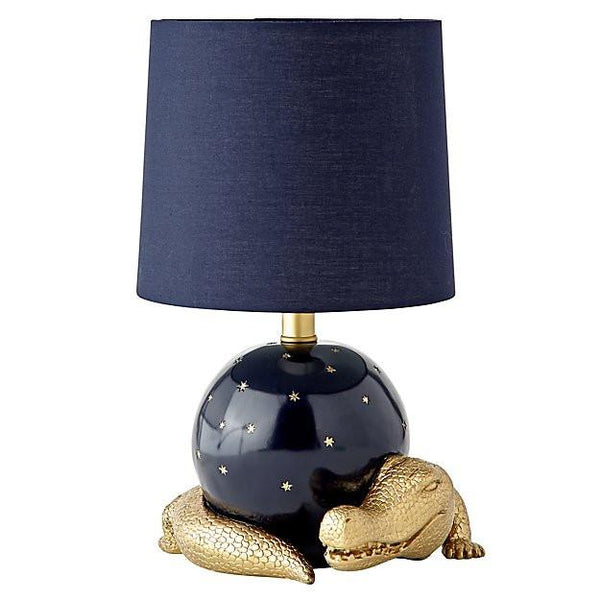 Celestial Crocodile Table Lamp - Boho Bohemian Decor