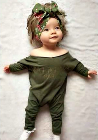 Balman Paris Long Sleeve Infant Romper - Boho Bohemian Decor