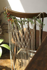 Boho Macrame Chair Back Panels-GoGetGlam