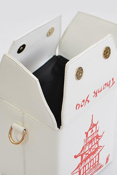 Chinese Takeout Box Clutch Handbag-GoGetGlam