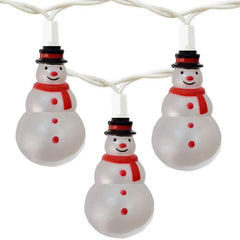 Christmas Snowmen Set of 10 String Lights-GoGetGlam