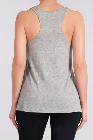 CLEVER FOX Racerback Tank Top - Boho Bohemian Decor