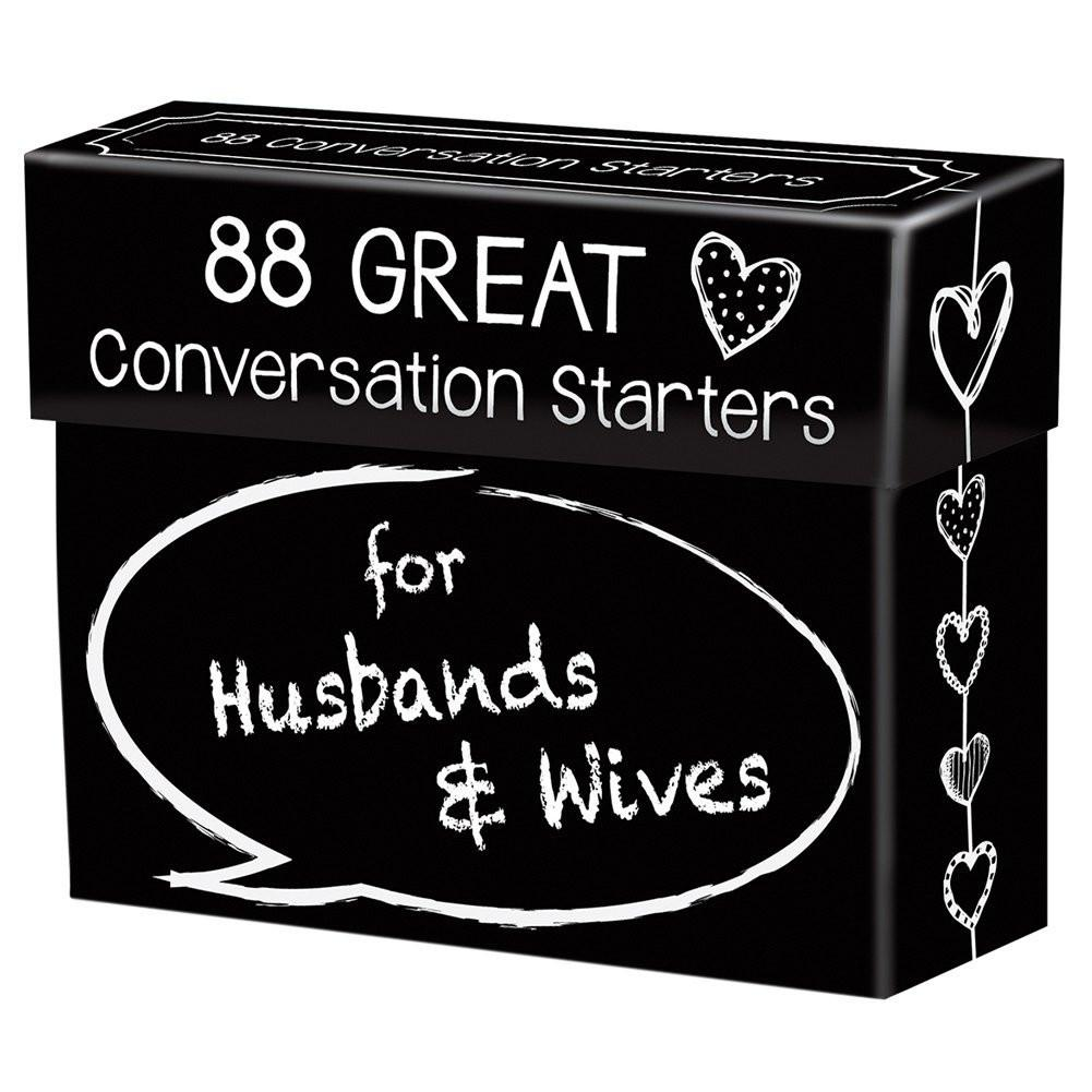 Conversation Starters For Husbands & Wives Interactive Game-GoGetGlam