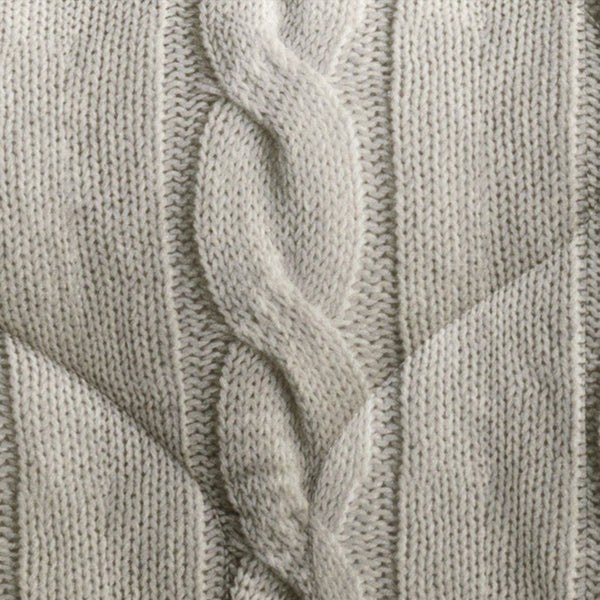 Cozy Cable Sweater Knit Comforter Bedding SET-GoGetGlam