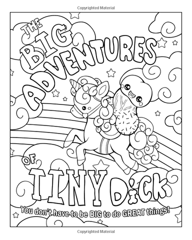 The Big Adventures of Little D Adult Coloring Book-GoGetGlam