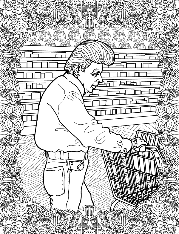 People of WALMART Inappropriate Adult Coloring Book – GoGetGlam