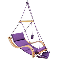 Deluxe Hanging Hammock Lounger Chair - GoGetGlam Boho Style