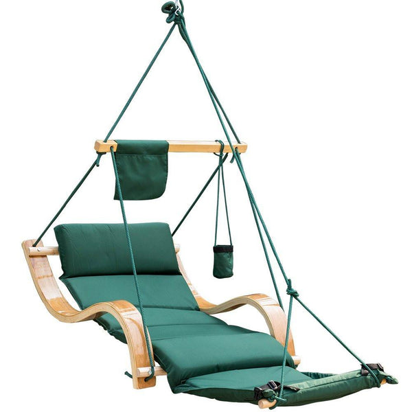 Deluxe Hanging Hammock Lounger Chair-GoGetGlam