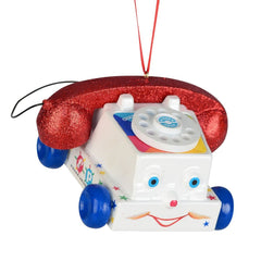 Department 56 Fisher Price Chatter Telephone Ornament - GoGetGlam Boho Style