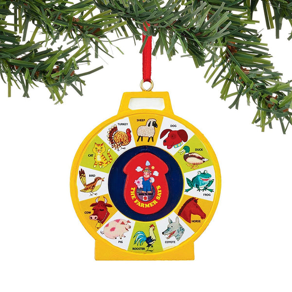 Department 56 Fisher Price See N Say Ornament - GoGetGlam Boho Style