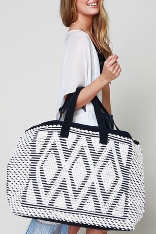 Desert Diamonds Boho Weekender Tote Bag - GoGetGlam Boho Style