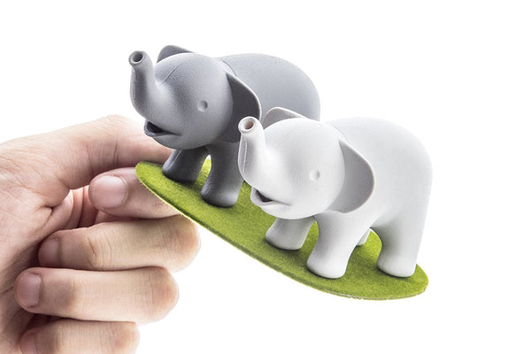 Elephant Pair Salt & Pepper Shakers-GoGetGlam