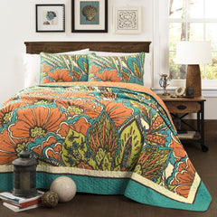 Elliana 3 PC Quilt Bedding Bed Collection-GoGetGlam