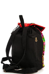 Embroidered Bohemian Rose Backpack-GoGetGlam
