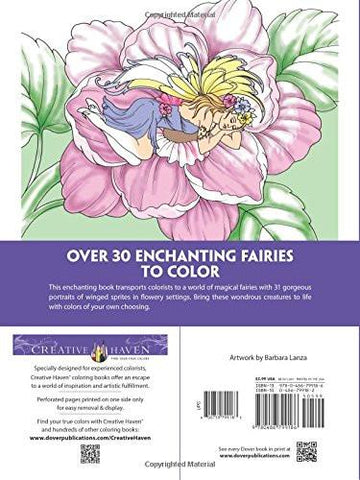 Enchanted Fairies Coloring Book For Adults-GoGetGlam