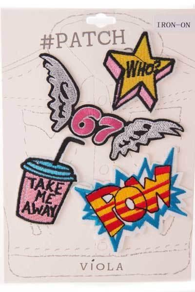 Express Yourself Patch Set - GoGetGlam Boho Style
