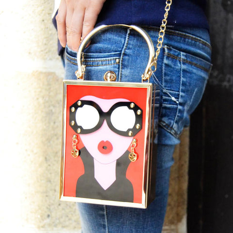 Face First Couture Artisan Handbag - GoGetGlam Boho Style
