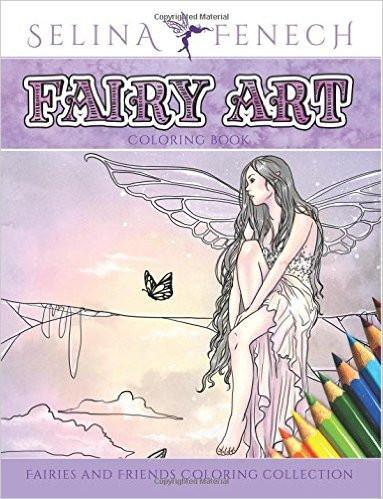 Fairy Art Adult Coloring Book - GoGetGlam Boho Style