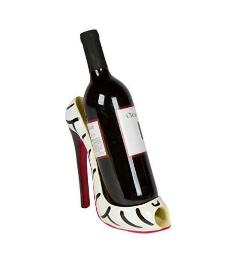 Fashion High Heel Shoe Wine Bottle Holder - GoGetGlam Boho Style