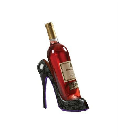 Fashion High Heel Shoe Wine Bottle Holder-GoGetGlam
