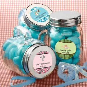 Favor Size Glass Mini Mason Jars - Sets of 12-GoGetGlam