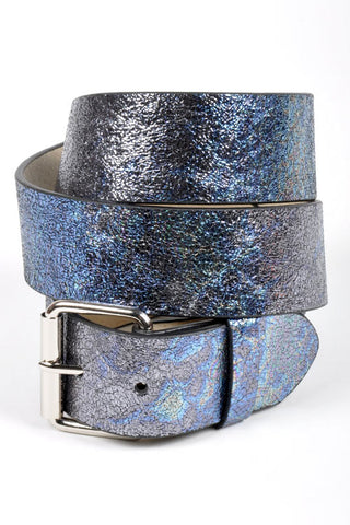 Metallic Leather Strap Belt in 3 Colors