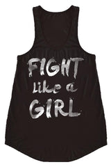 Fight Like A Girl Tank Top-GoGetGlam