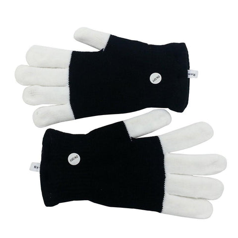 Flashing Finger Light Gloves LED Colorful Gloves 7 Colors Light Show-GoGetGlam