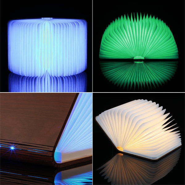 Folding Book Table Lamp Night Light-GoGetGlam