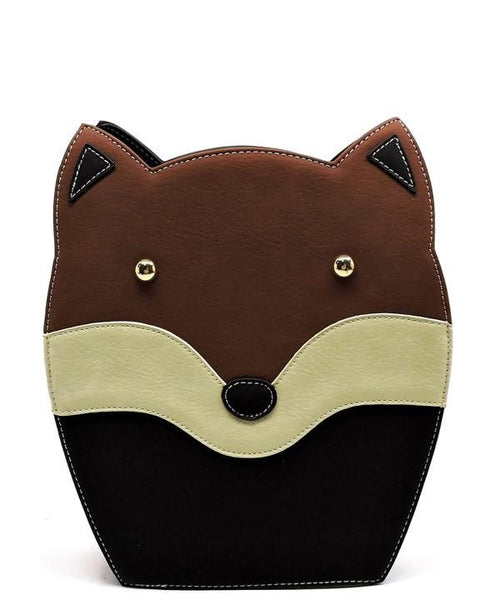Forest Fox Crossbody Handbag-GoGetGlam