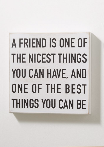 Friendship Vintage Box Wall Art-GoGetGlam