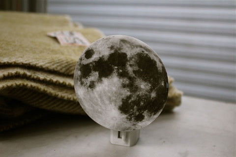 Full Moon Night Light - GoGetGlam Boho Style