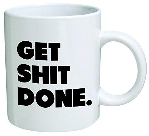 Get It Done Coffee Mug Cup - GoGetGlam Boho Style