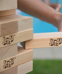 GIANT 4 FOOT Jenga Genuine Hardwood Game - GoGetGlam Boho Style