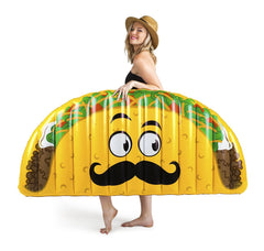 Giant Taco Pool Float - GoGetGlam Boho Style