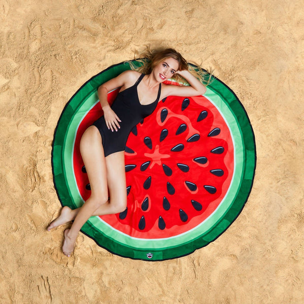 Giant Watermelon Beach Blanket-GoGetGlam