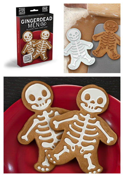 GINGERDEAD MEN Cookie Cutter Stamper-GoGetGlam