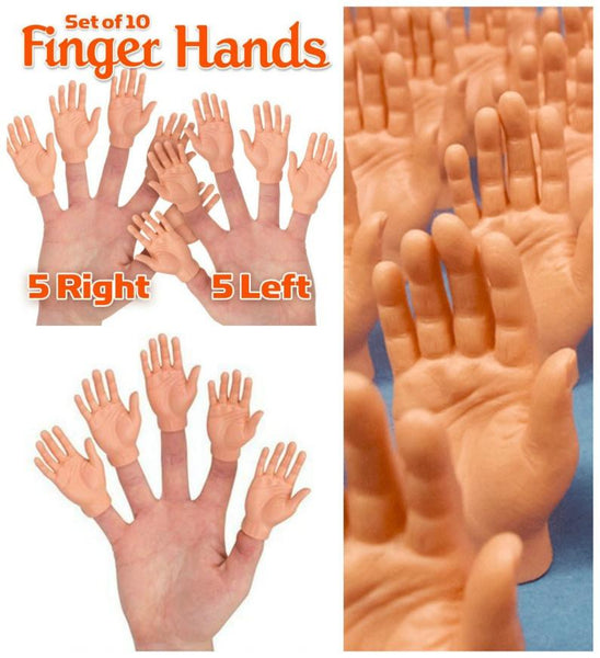 High 25 Finger Hands SET of 10 - GoGetGlam Boho Style