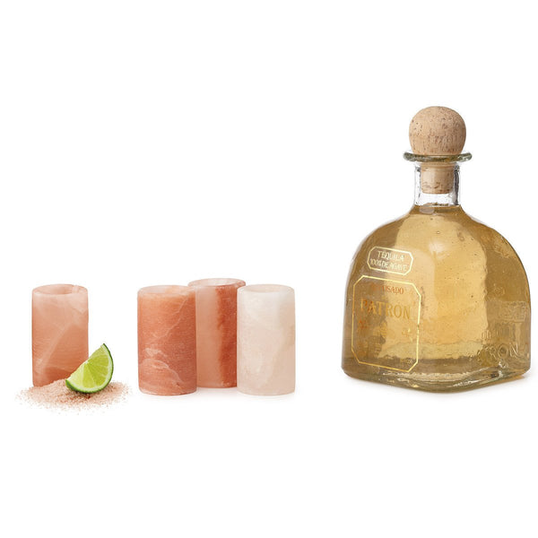 Himalayan Salt Shot Glasses- Set of 4-GoGetGlam